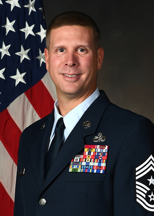Chief Master Sgt. Kennon D. Arnold, Command Chief