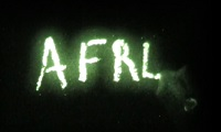 Glowing crayons spelling AFRL as link to a YouTube video